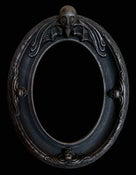 "Image of ""Oval"" Frame- fits 5x7"" painting"