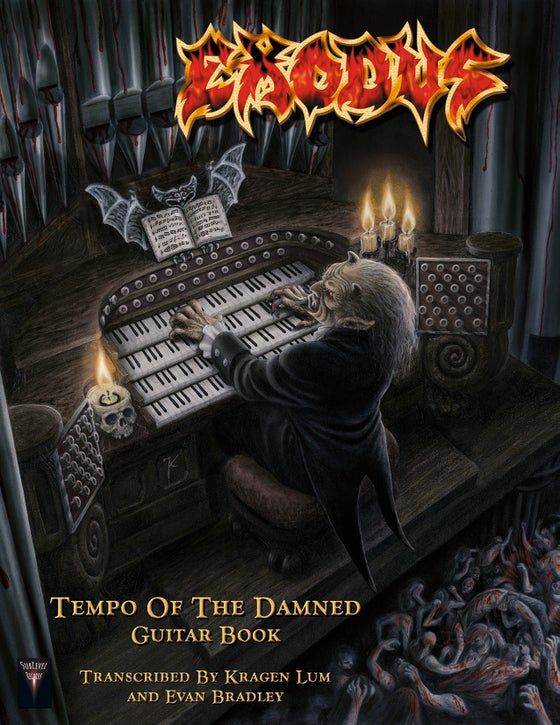 Image of Exodus - Tempo Of The Damned Guitar Book (Print Edition)