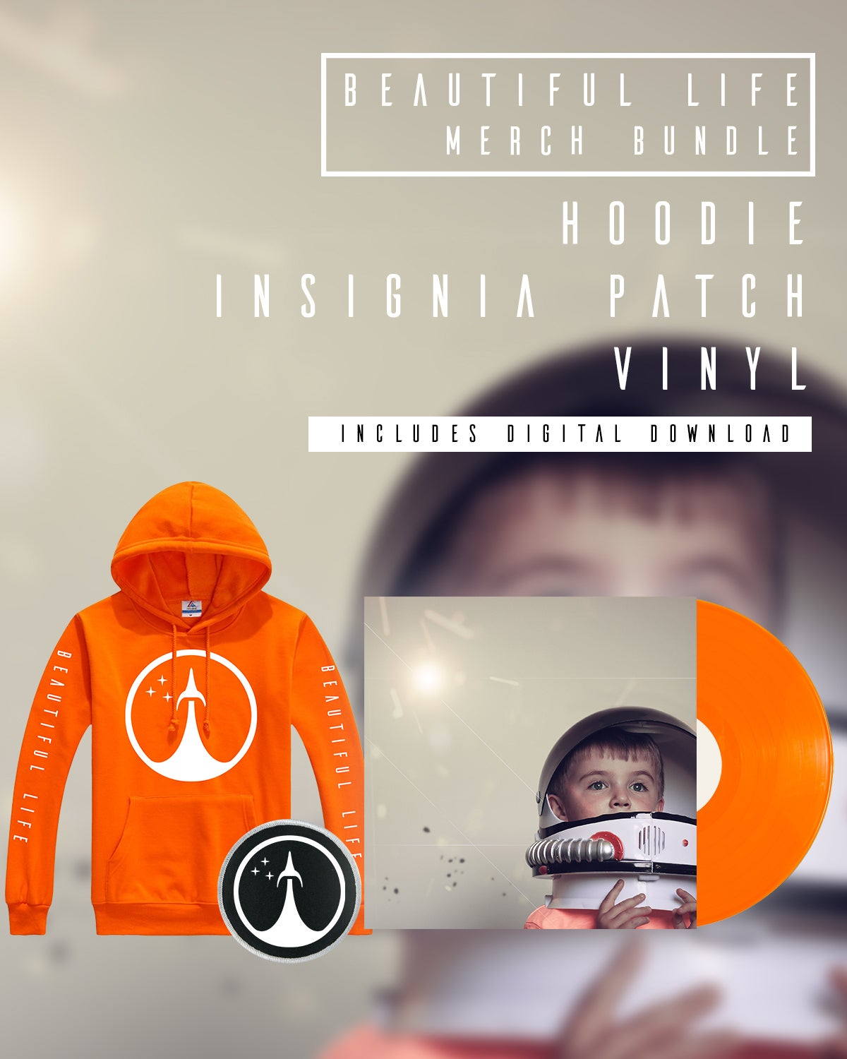 Image of Beautiful Life Pre Order Hoodie Bundle
