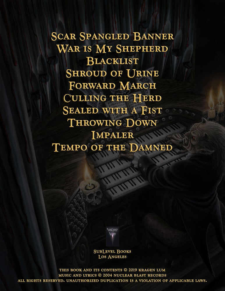 Image of Exodus - Tempo Of The Damned Guitar Book (eBook Edition)