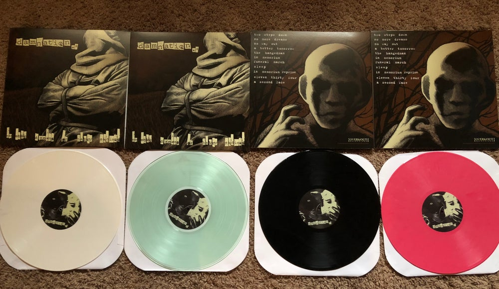 Image of Damnation AD- No More Dreams Of Happy Endings LP REMASTER