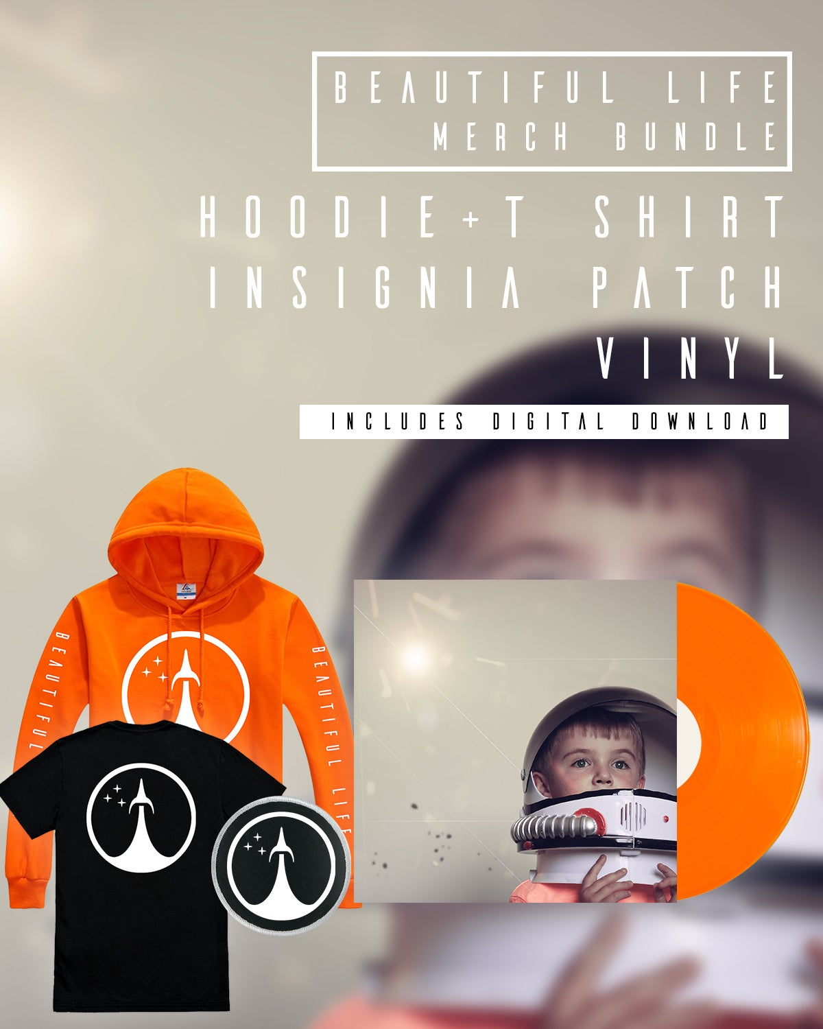 Image of Beautiful Life Pre Order Hoodie/Shirt Bundle