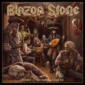 Image of BLAZON STONE - Hymns of Triumph and Death CD