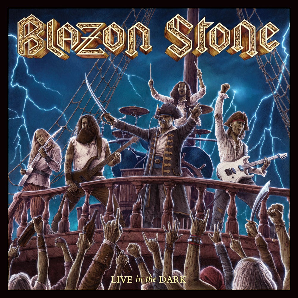 BLAZON STONE - Live in the Dark CD