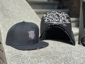 Image of Leave Your Mark Shop Snap Back Hand Style Hat w/ Under Bill