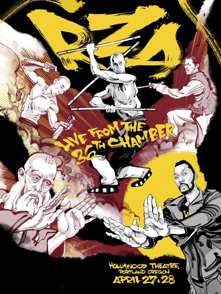Image of RZA: Live from the 36th Chamber Poster