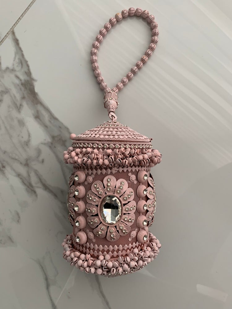 Image of BABY PINK AGRA BAG SAMPLE