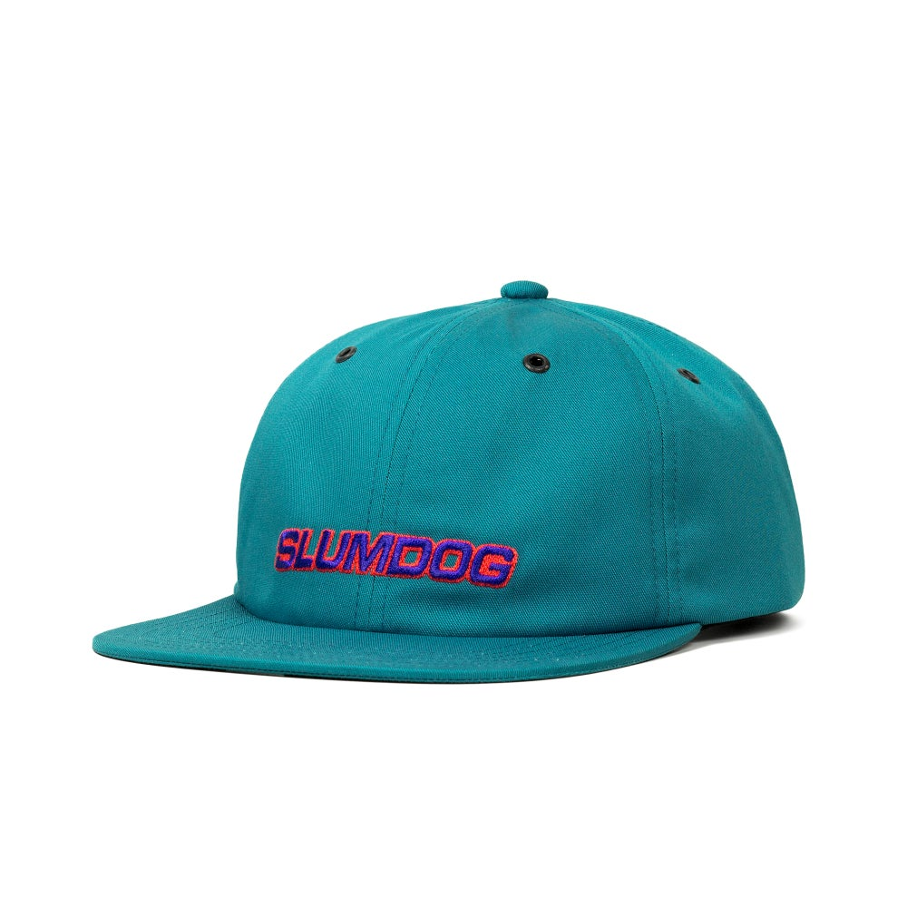 Image of 6 PANEL CAP <br> TEAL