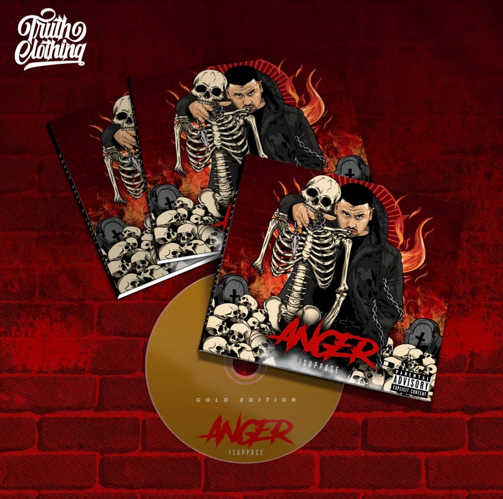 """Image of """"Anger"""" Album   Gold Edition   Pre-order"""