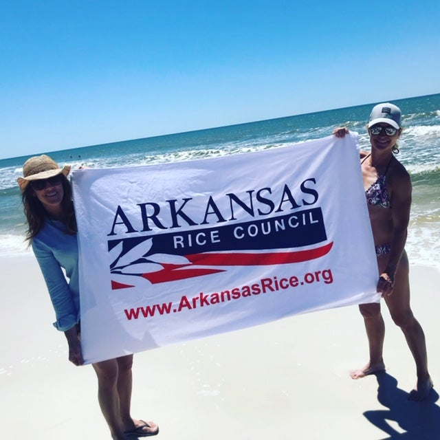 Image of Arkansas Rice Council Beach Towel