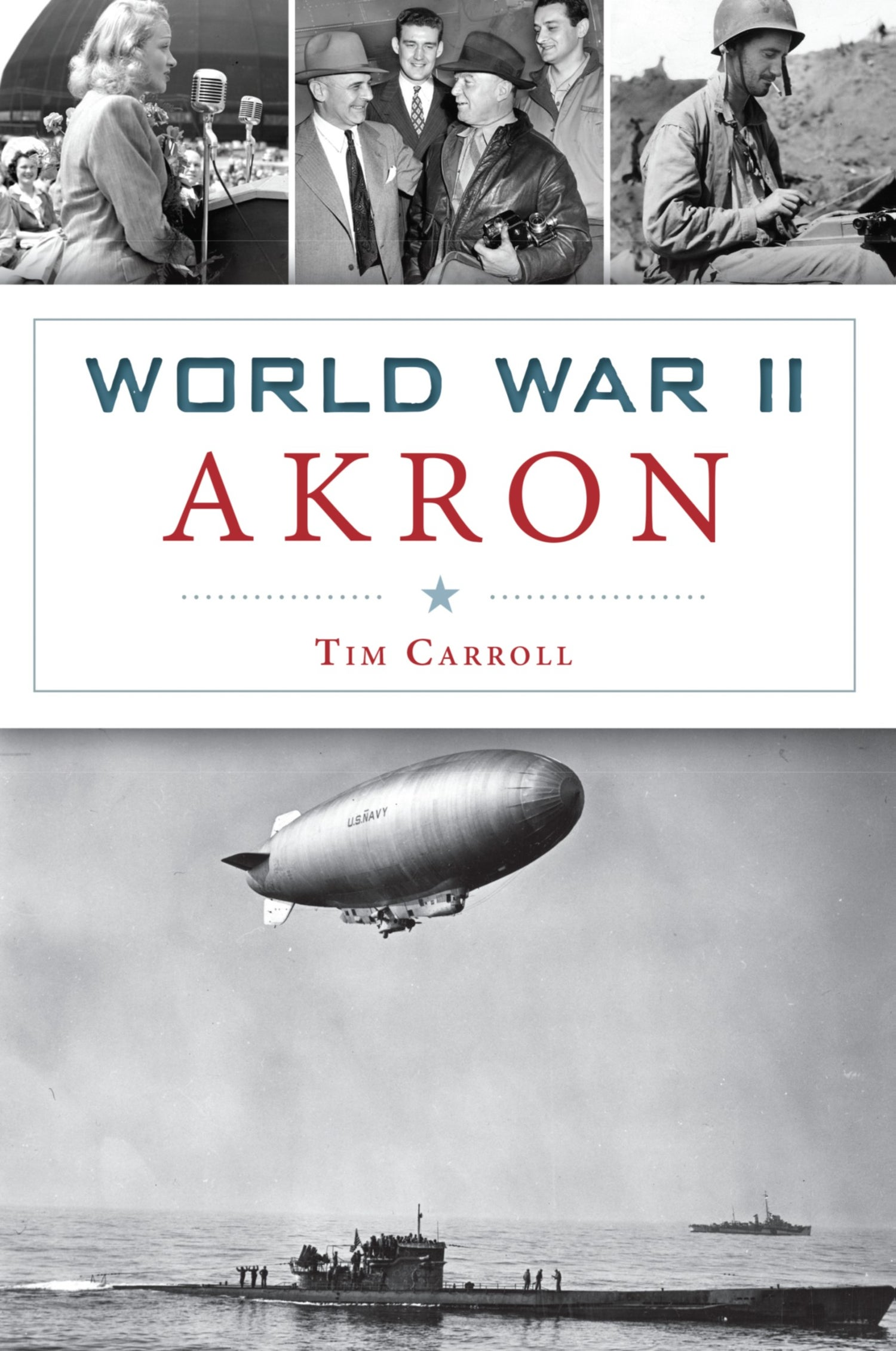 World War II Akron Signed by the Author Free Shipping