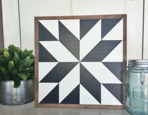 "Image of 11"" x 11"" - CUSTOM ORDER - Classic Barn Quilt"