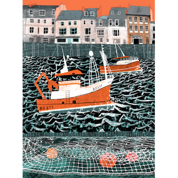 Image of 'Goin Fishin' Ilfracombe
