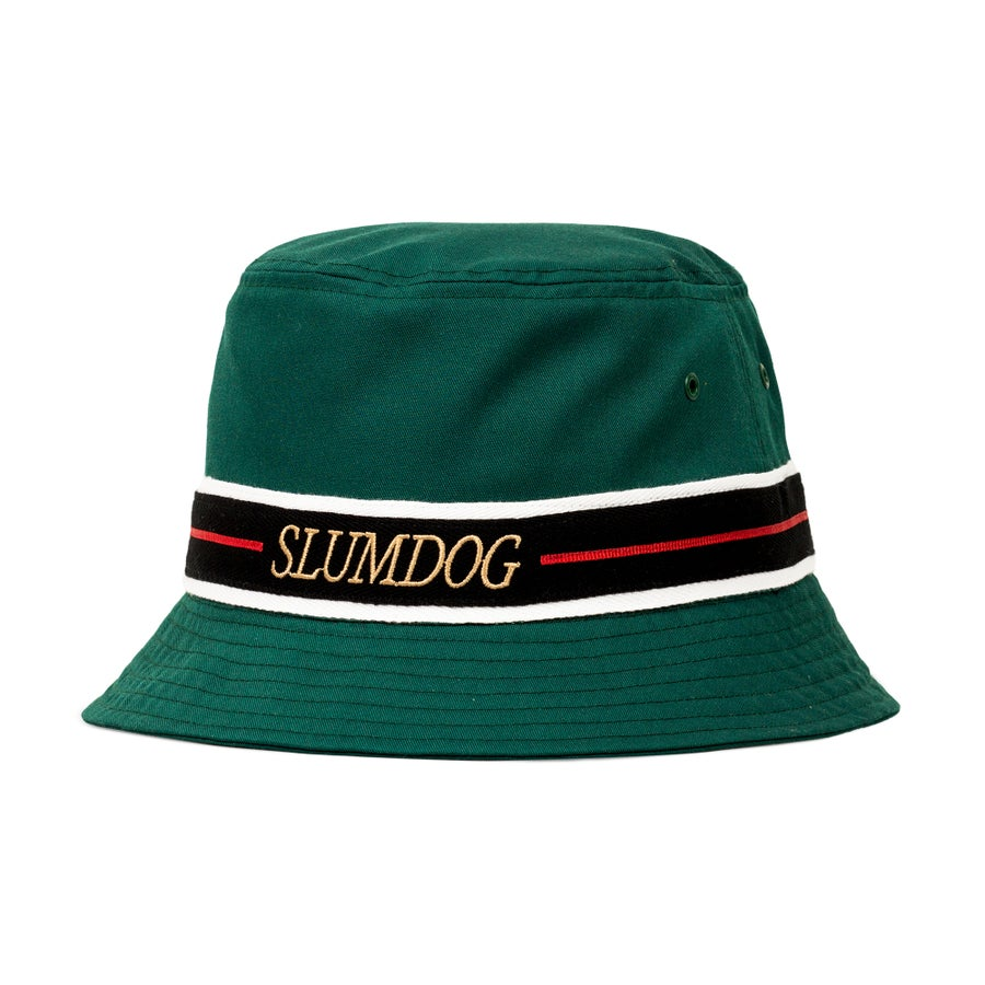 Image of BUCKET HAT <br> BOTTLE GREEN