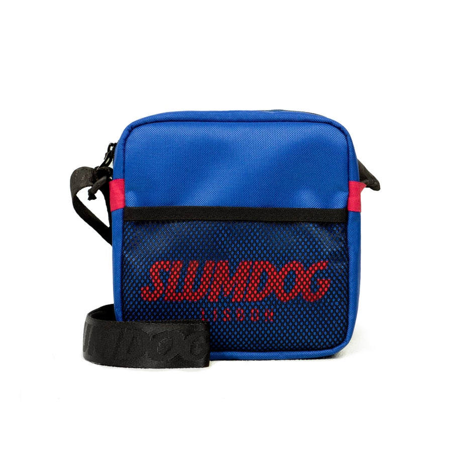 Image of SHOULDER BAG <br> ROYAL BLUE