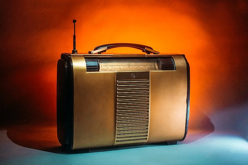 Image of RCA VICTOR GLOBETROTTER GOLD BLUETOOTH (1946)