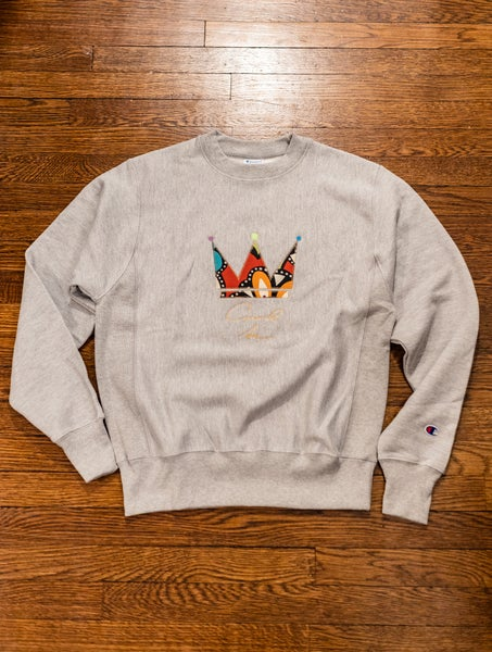 Image of Your Grace - Crewneck in Grey