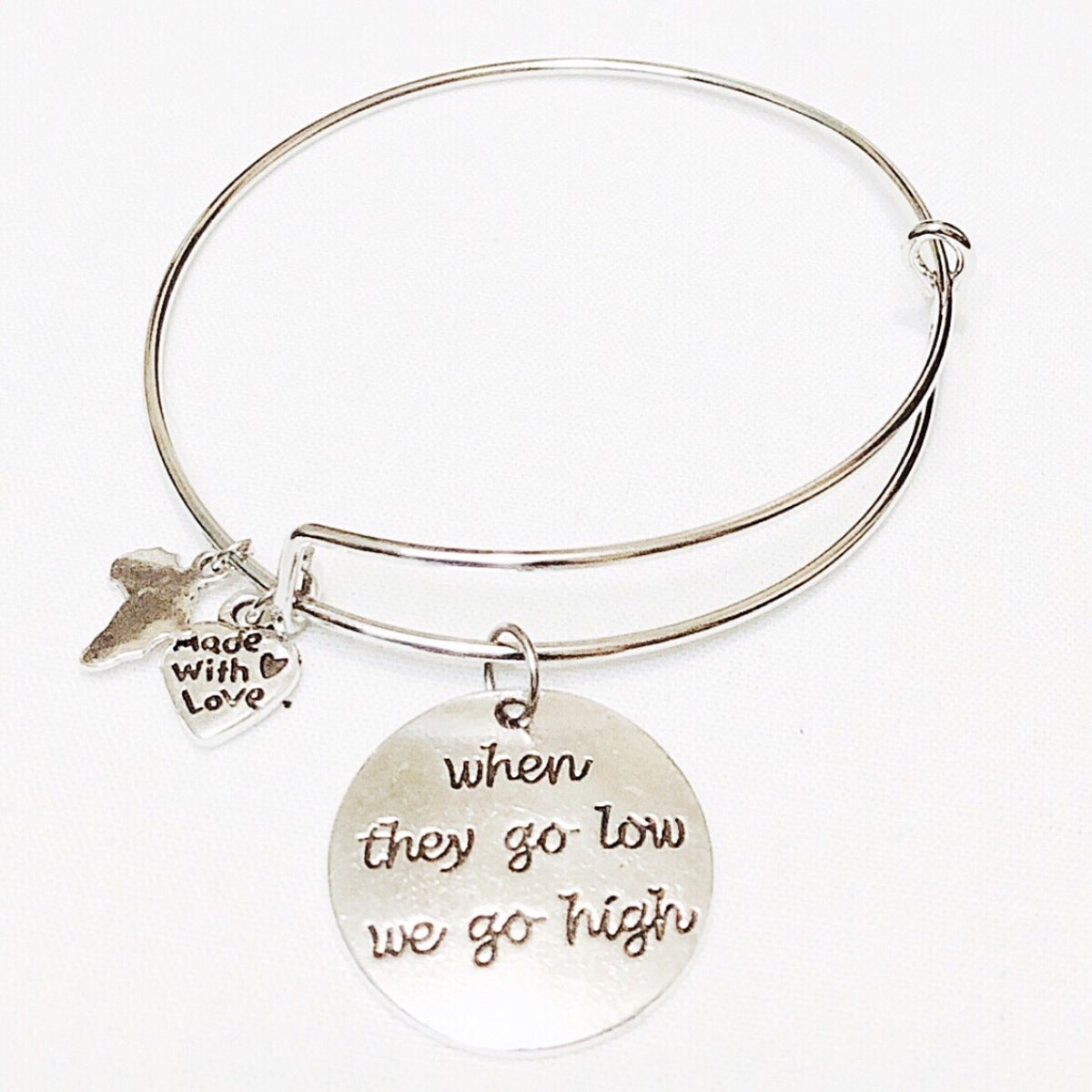 "Image of ""When they go low"" Bangle"