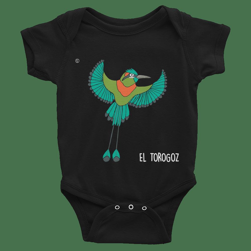Image of Central American Birds Baby Bodysuits - EL SALVADOR
