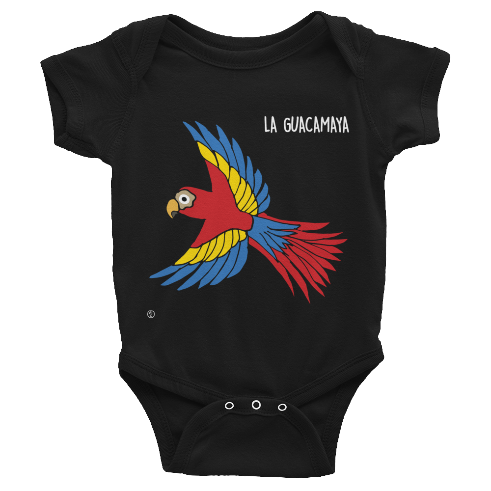 Image of Central American Birds Baby Bodysuits - HONDURAS