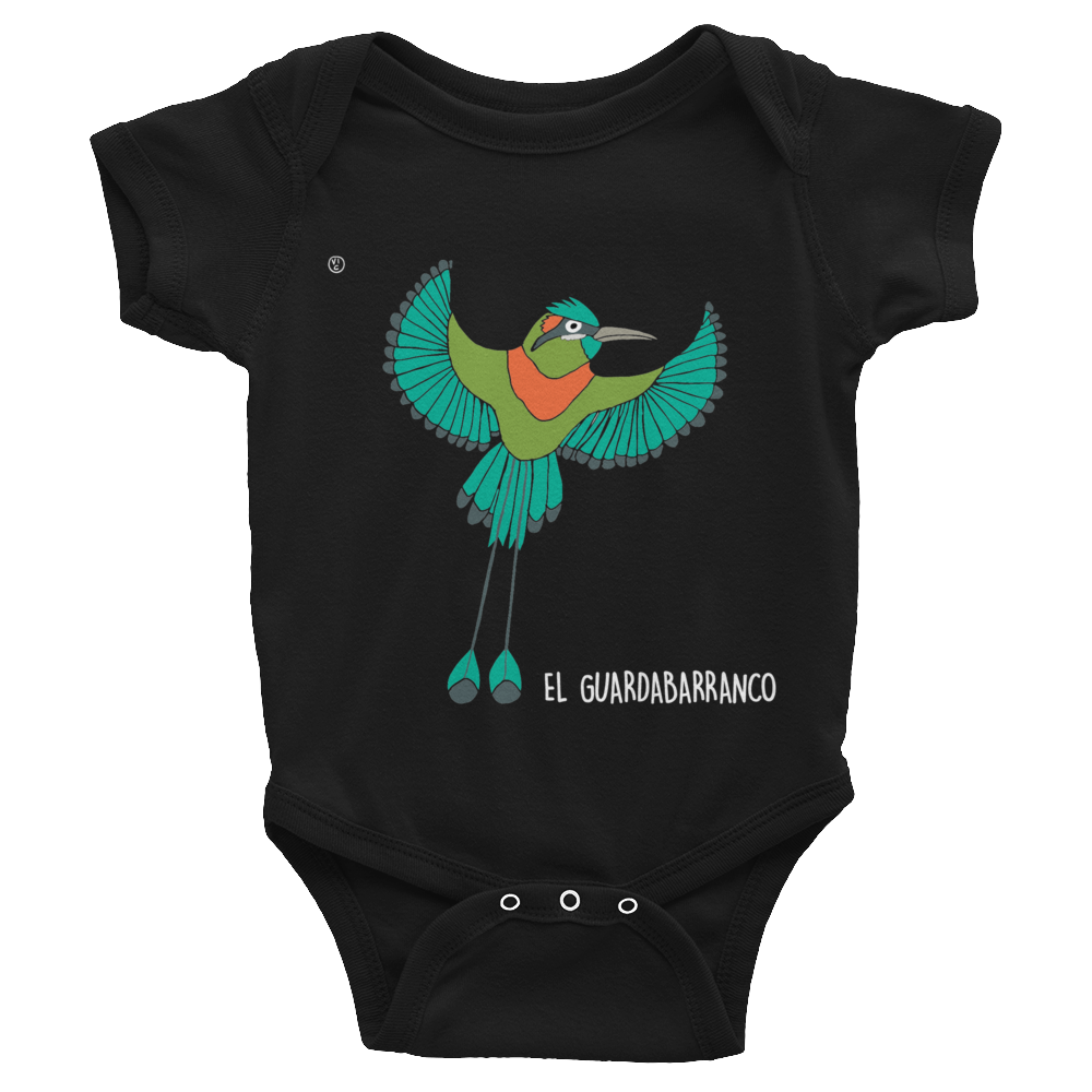 Image of Central American Birds Baby Bodysuits - NICARAGUA