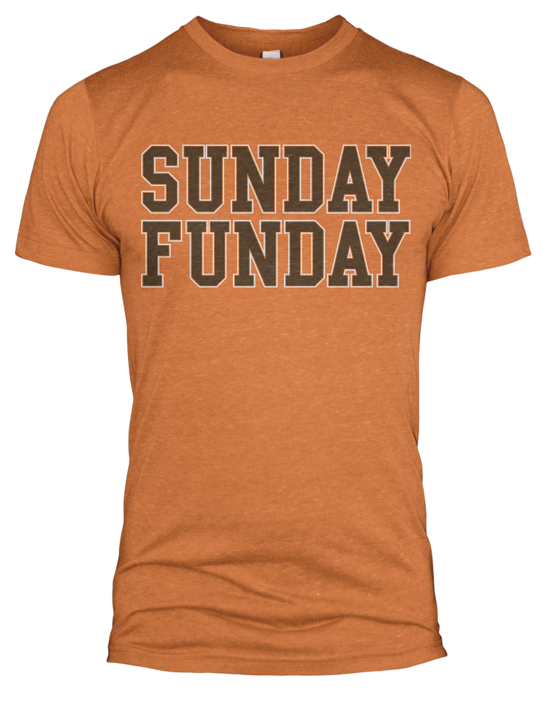 Image of Orange Sunday Funday T-shirt