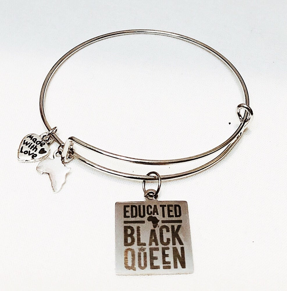 Image of Educated Queen Bangle