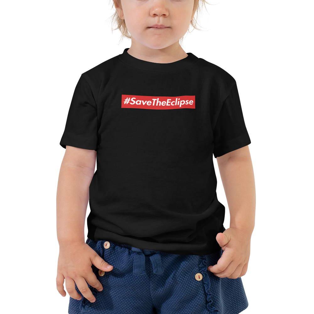 Image of TODDLERS | #SAVETHEECLIPSE RED/BLACK