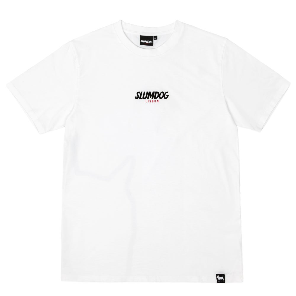Image of LOGO TEE <br> WHITE