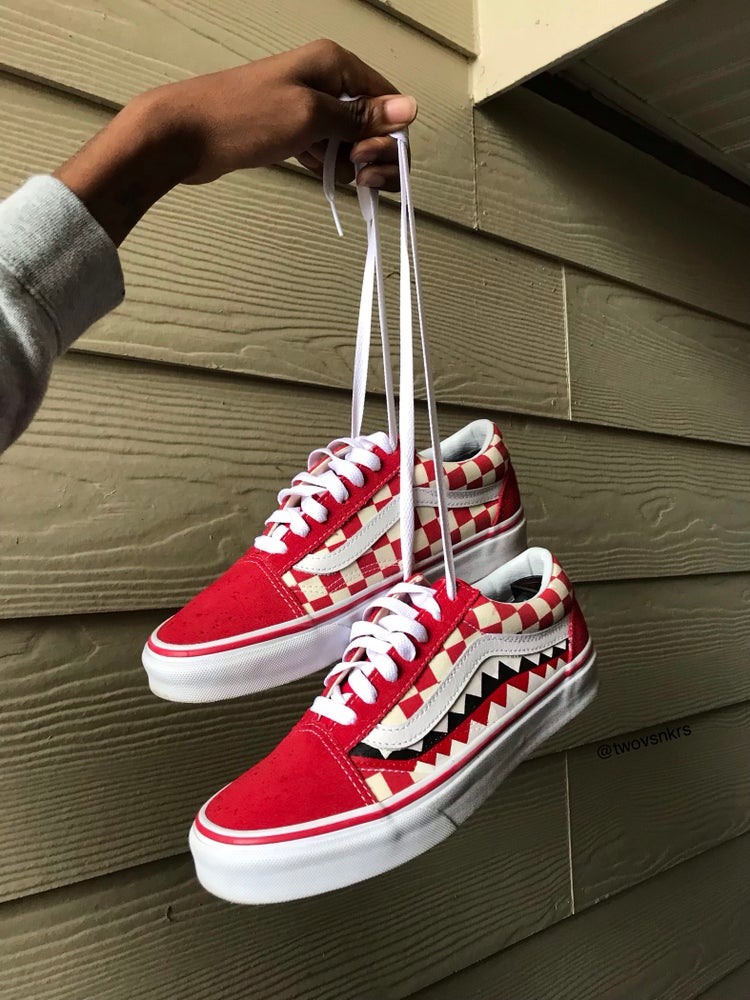 Custom Vans Old Skool Checkerboard