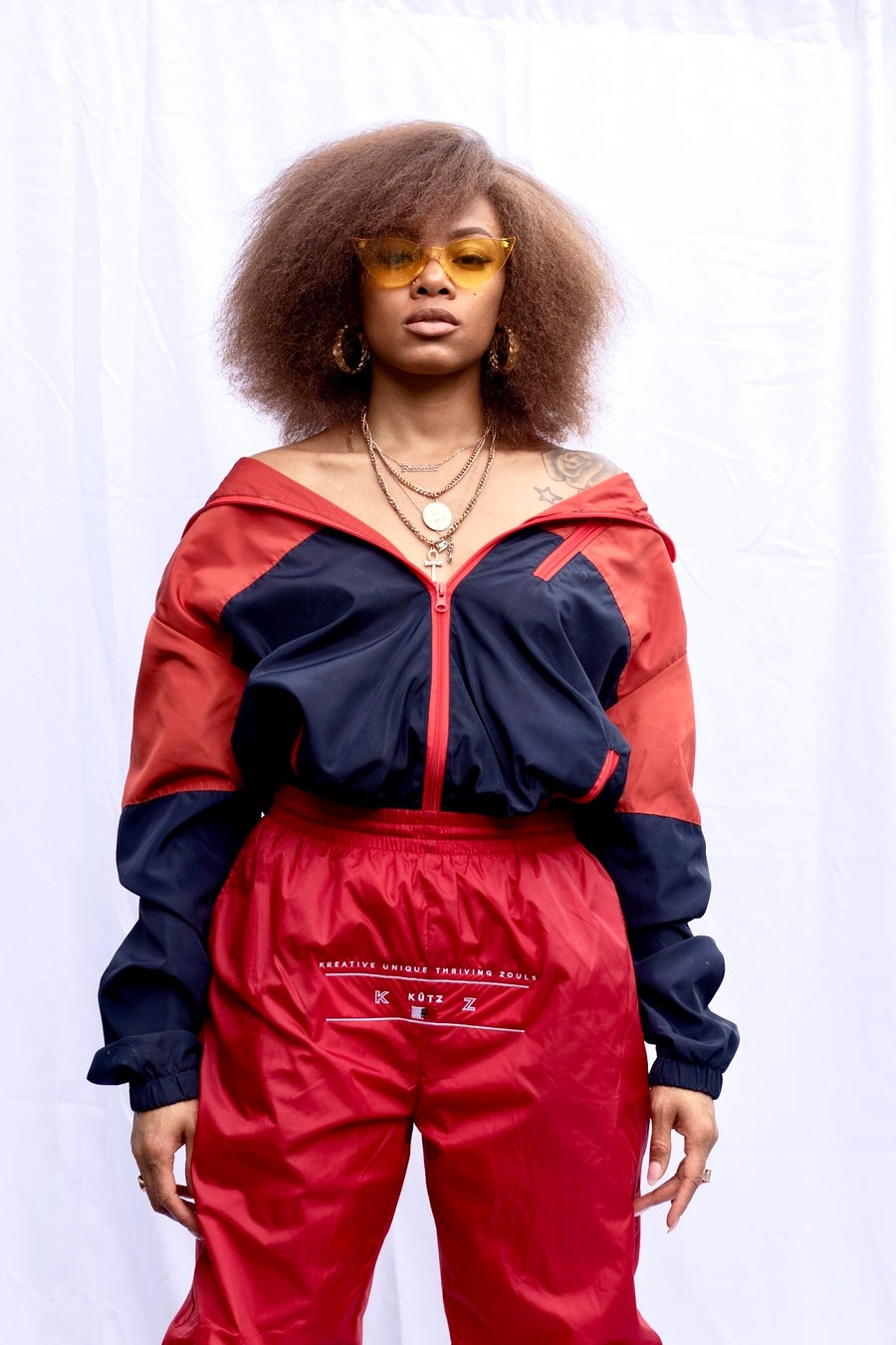 Image of Red K.Ü.T.Z WindBreaker Pants