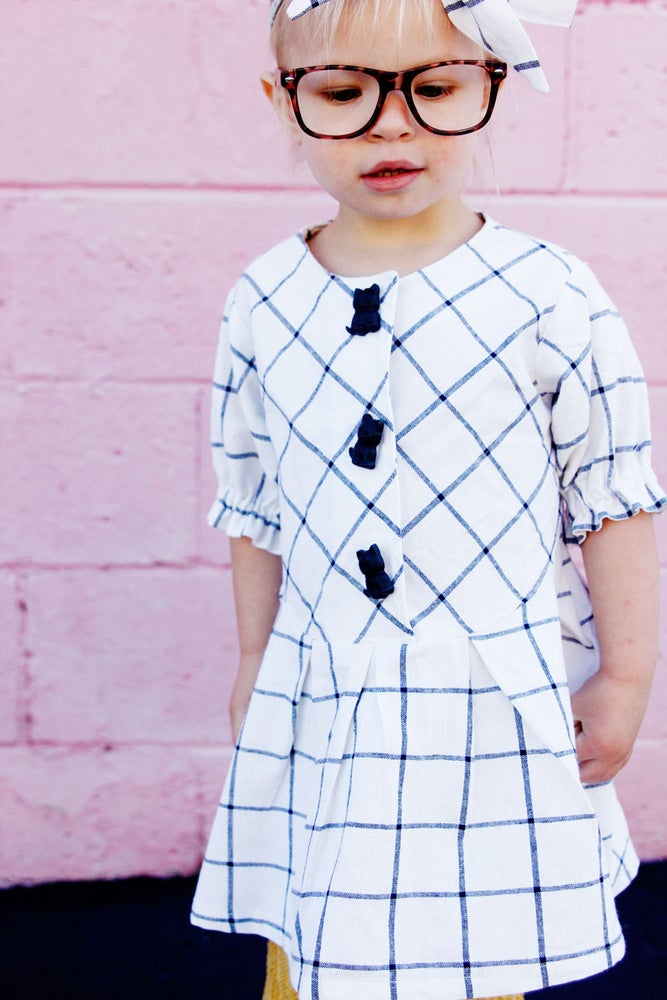 Image of the ZIG ZAG dress pattern