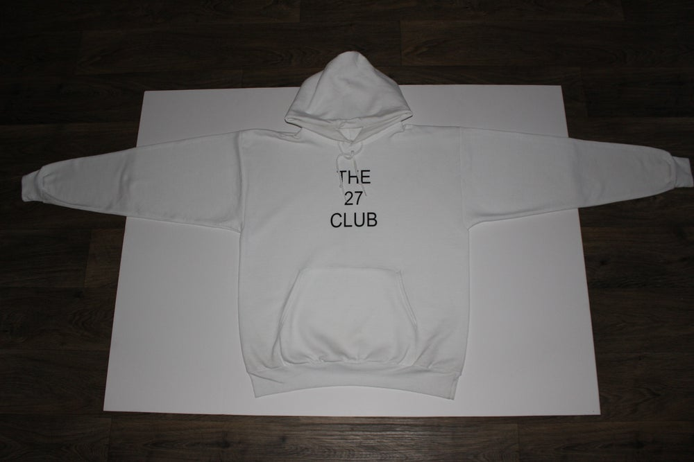 Image of The 27 Club White Hoodie