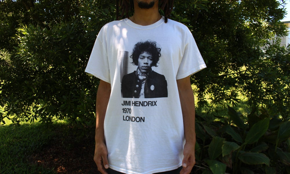 Image of Jimi Hendrix 1970 Tour Shirt