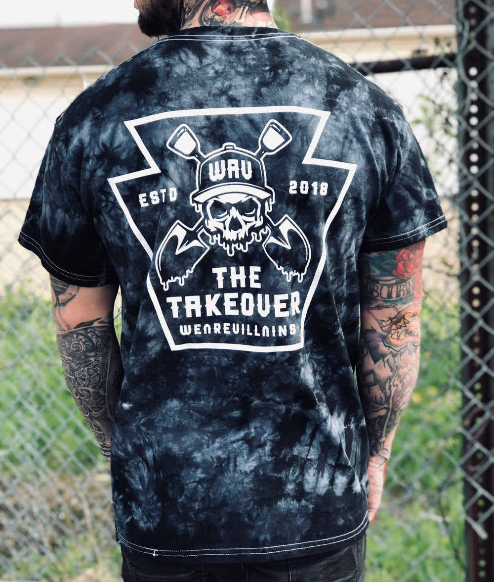 (3 colors) The Takeover tee