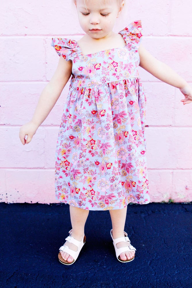 Image of the EASY SUMMER DRESS PATTERN (girls 2T-10)