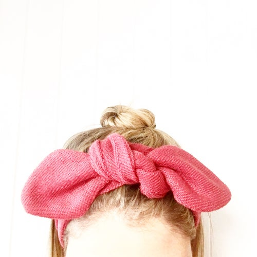 Image of Handmade Textured Top Knots