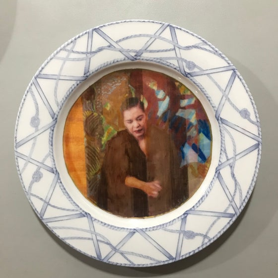 Image of Lady Day Decorative Plate