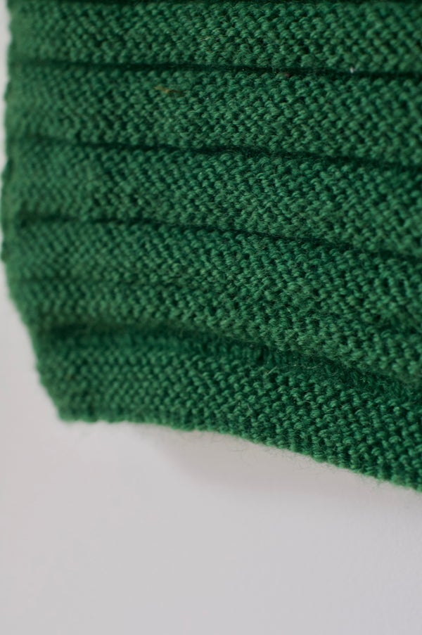 Image of Knitted Vest - Spinach