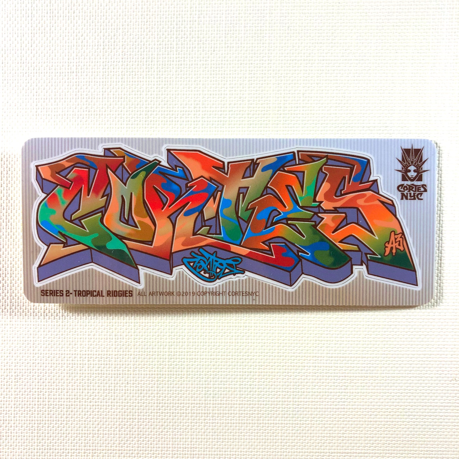 Image of Tropical Ridgies (Sticker)