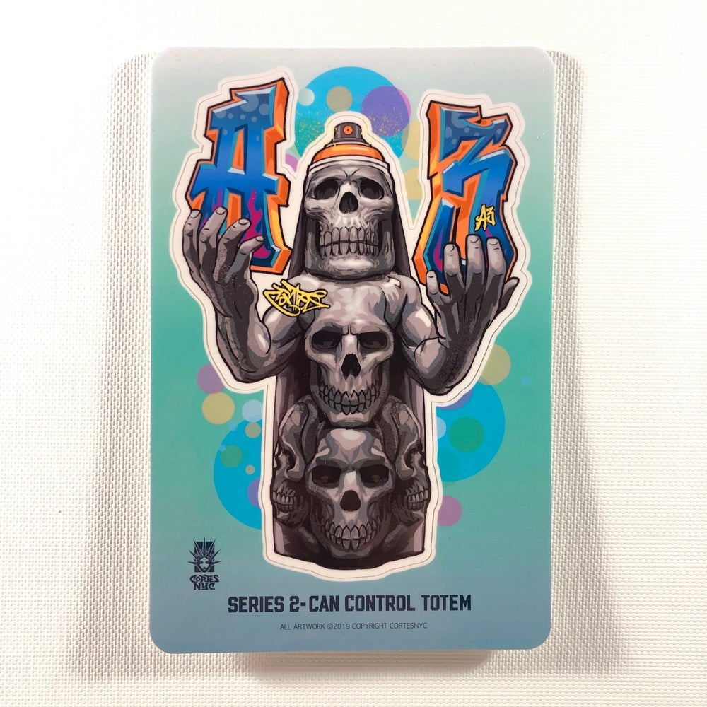 Image of Can Control Totem (Sticker)