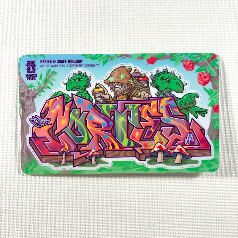 Image of Graff Kingdom (Sticker)