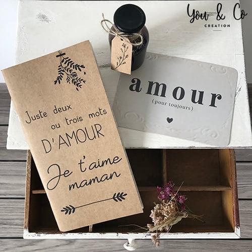Carnet De Notes Je Taime Maman