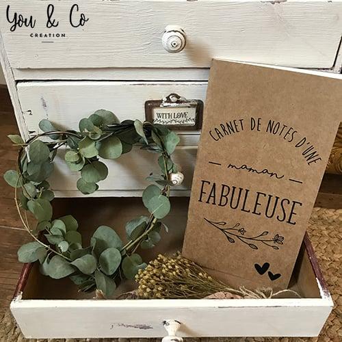 """Image of Carnet de notes """"maman fabuleuse"""""""
