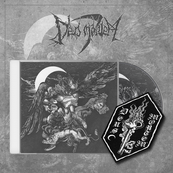 Image of DEUS MORTEM - 'Kosmocide' lim. jewelcase CD with patch