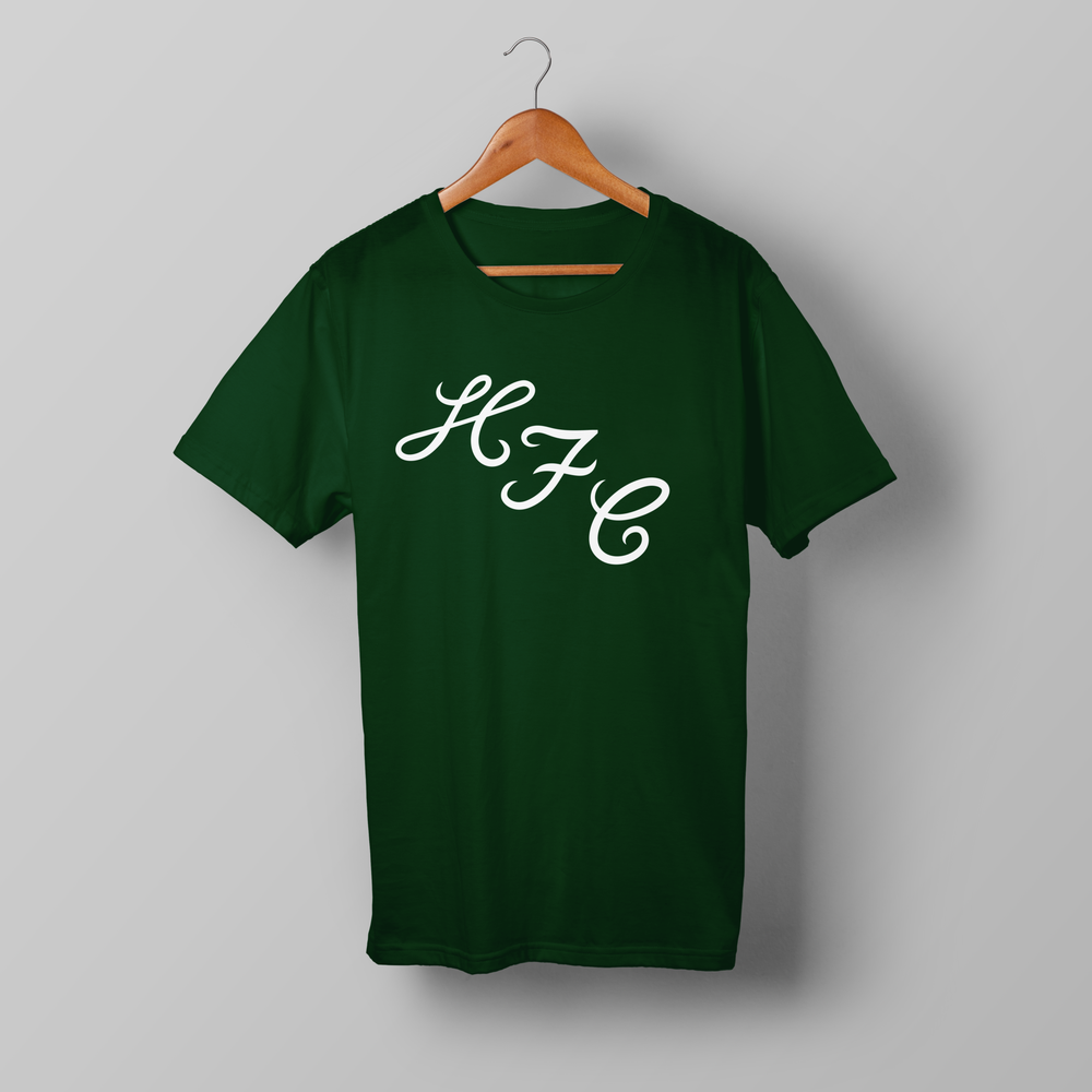 Image of HFC 1972 T-shirt – Bottle Green