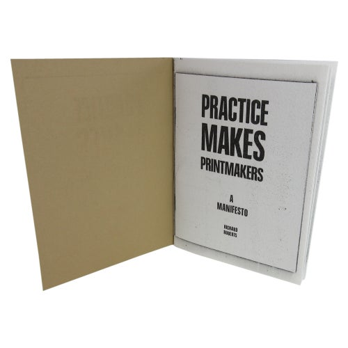 Image of Practice Makes Printmakers - A Simulacrum