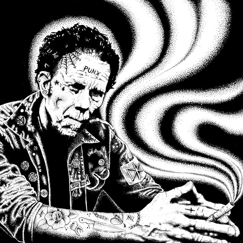 Image of TOM WAITS TRIBUTE 4 WAY SPLIT 7INCH