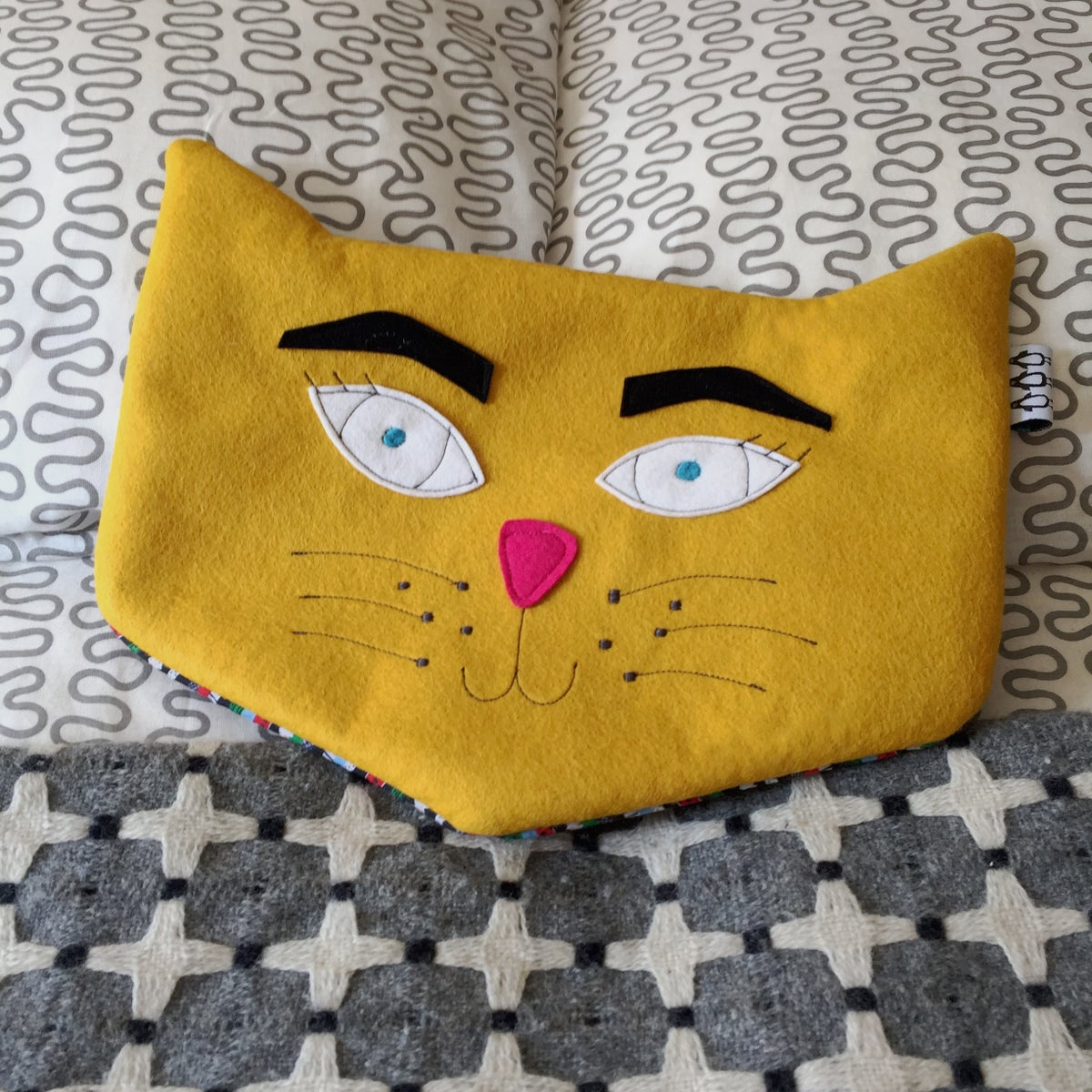 Image of Cat Hot Water Bottle
