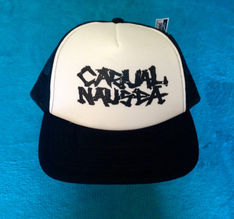 Image of Casual Nausea D.I.Y or DIE trucker caps